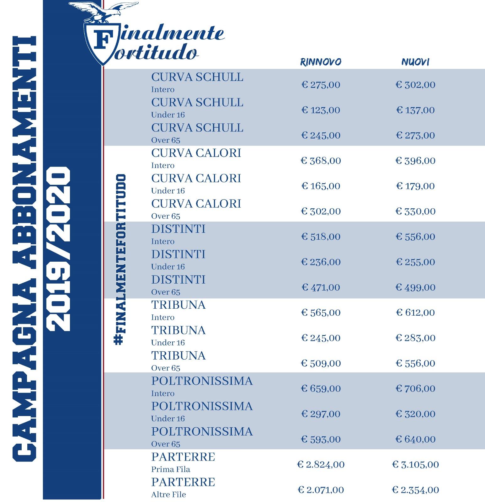 Calendario Fortitudo 2020.Abbonamenti Fortitudo Bologna 103